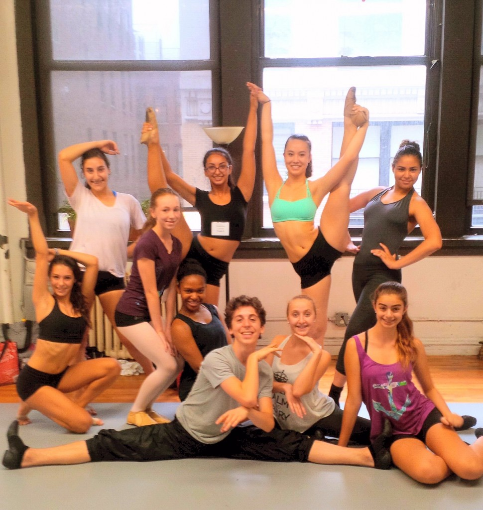 Joffrey NYC Jazz & Contemporary Summer Intensive Students Photo credit: Ashani Mfuko