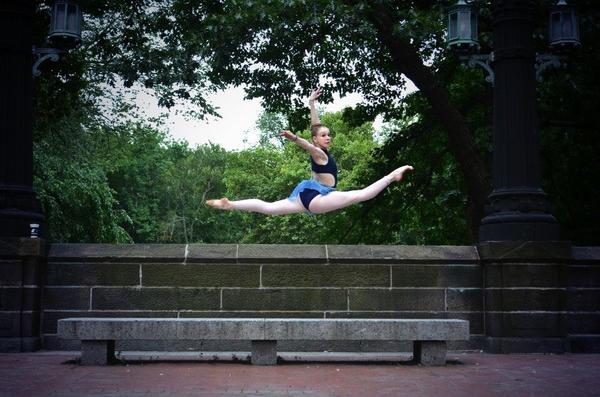 Joffrey Ballet School Summer Intensive Student, Emily Caplan.