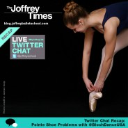 TweetChat Recap: Pointe Shoe Problems @BlochDanceUSA