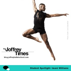 Student Spotlight: dancer, choreographer… J&C Trainee Imani Williams