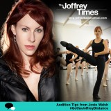 #GotheJoffreyDistance: Josie Walsh's Audition Tips