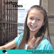 Student Spotlight: Youth Ensemble Member Hannah Eng